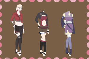 Naruto Adoptables Batch #11 CLOSED by SicklySatisfied