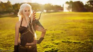 Daenerys Targaryen - Game of Thrones I by fiathriel