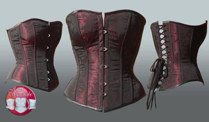 Katherine's Corset by Janes-Wardrobe