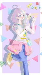 Pastel Girl Challenge By Dechii by Dechii008