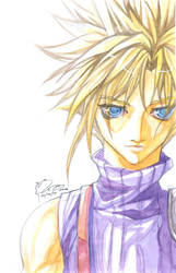Cloud Strife: Lost by Nick-Ian