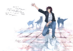 Wolf's Rain Kiba Reach Out For Paradise by Nick-Ian