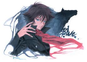 Wolf's Rain - Blue by Nick-Ian