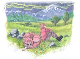 Wolf's Rain - Toboe's Paradise by Nick-Ian