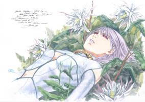 Wolf's Rain Chesa Lunar Flower Lullaby by Nick-Ian