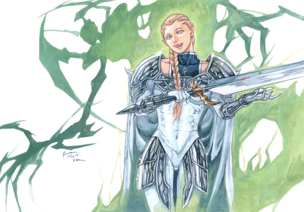 Claymore Ophelia The Twisted by Nick-Ian