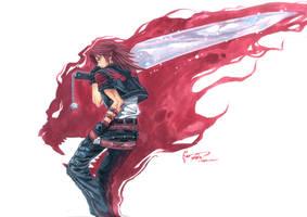 Kingdom Hearts: Leon The Lion Heart by Nick-Ian