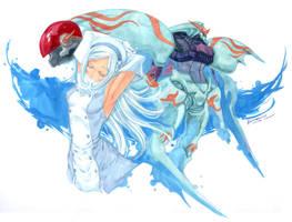 Gundam Build Fighters: Aila by Nick-Ian