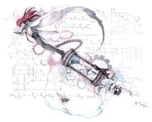 Steins Gate - Time Machine Duo by Nick-Ian