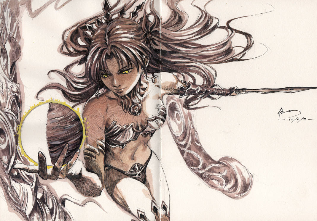 Ishtar - Fate Grand Order by Nick-Ian
