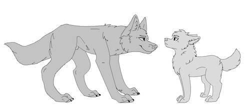 Wolf Bases Favourites By Thegalaxymagnet On Deviantart