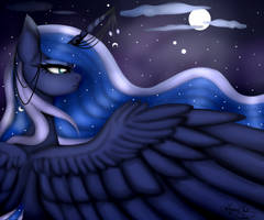 Princess Luna - Open Collab by Amoura7447Symphony