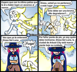 Felicidades Diosa Sol Luna by yamilMIYO