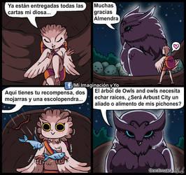 Les presento a Owl Purple by yamilMIYO