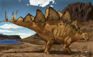 Stegosaur by Cedarbird