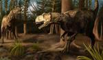 Eustreptospondylus by Cedarbird