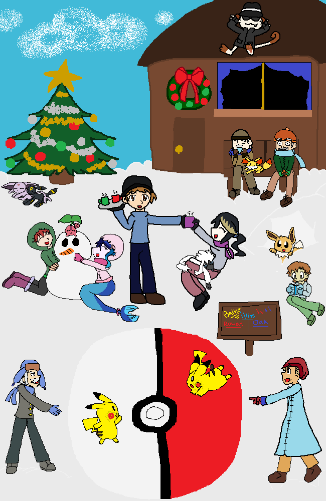 Advent Calendar Drawing by BrittanyKitty2010
