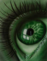 Green Eye by TazPoltorak