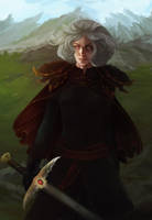 Visenya Targaryen by Nidhogge