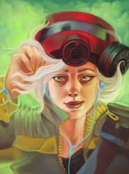 Wasteland Girl by Nidhogge