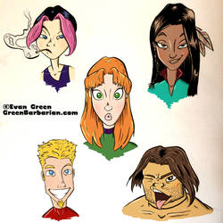 Gen13 by greenbarbarian