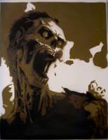 zombie's scream by sickTony