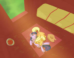 spring cleaning by Siansaar