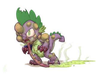 Zombie Spike by Siansaar