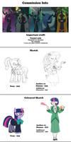 Commission Info by Siansaar
