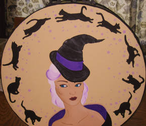 Black Cats and Witches Hats by autumn2371