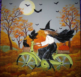 Witch's Ride Home by autumn2371