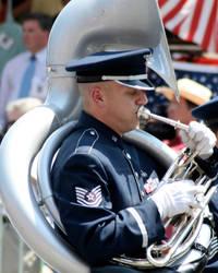 Memorial Day Parade Performance by LovingInTheLongGrass