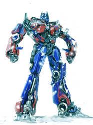 Optimus Prime by alfinkahar