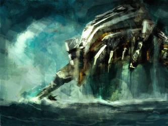 battleship fanart by alfinkahar