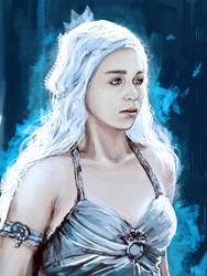 Daenerys Targaryen by alfinkahar