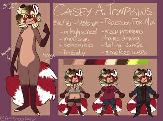 Casey Reference Sheet 2018 by AstrooFox