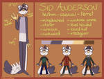 Sid Reference Sheet 2018 by AstrooFox