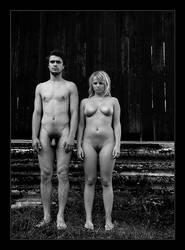 Adam and Eva by YuriBonder