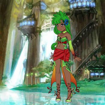 Tried to make Amalia from Wakfu by Blaria95