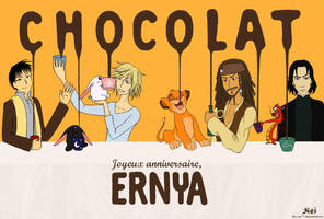 CHOCOLAT for Ernya by Kei-san77