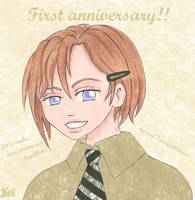 First Anniversary by Kei-san77