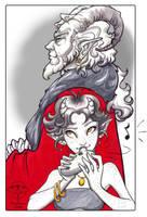 EWE - Trudi and Vergree by giz-art