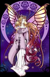 Tarot card : Love by giz-art
