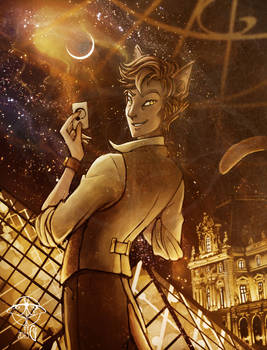 Paris in Vitro Constellation serie - Doyle by giz-art
