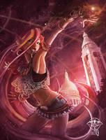 Paris in Vitro Constellation serie - Maelle by giz-art