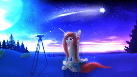 Misty Moonlight by LexiFyrestar
