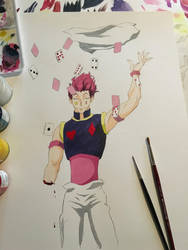 Hisoka's Card Trick by Infamouscatforce
