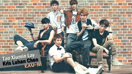 EXO-Men wallpaper by dangerous-love