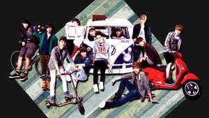 EXO ot12 wallpaper by dangerous-love