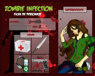 Zombie Infection Entry Meredit by JennRobinEvans